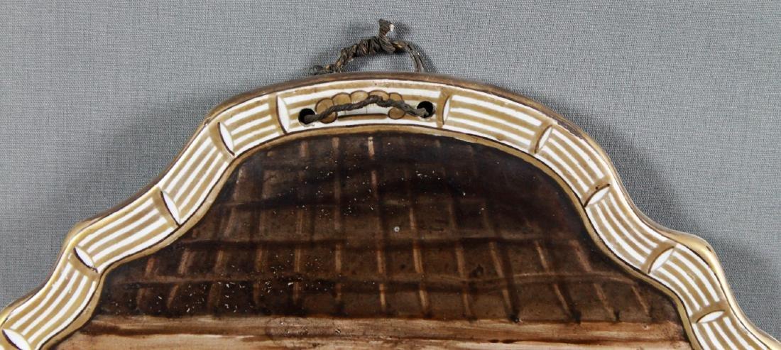 Rare lille Oval Porcelain Plaque - 3