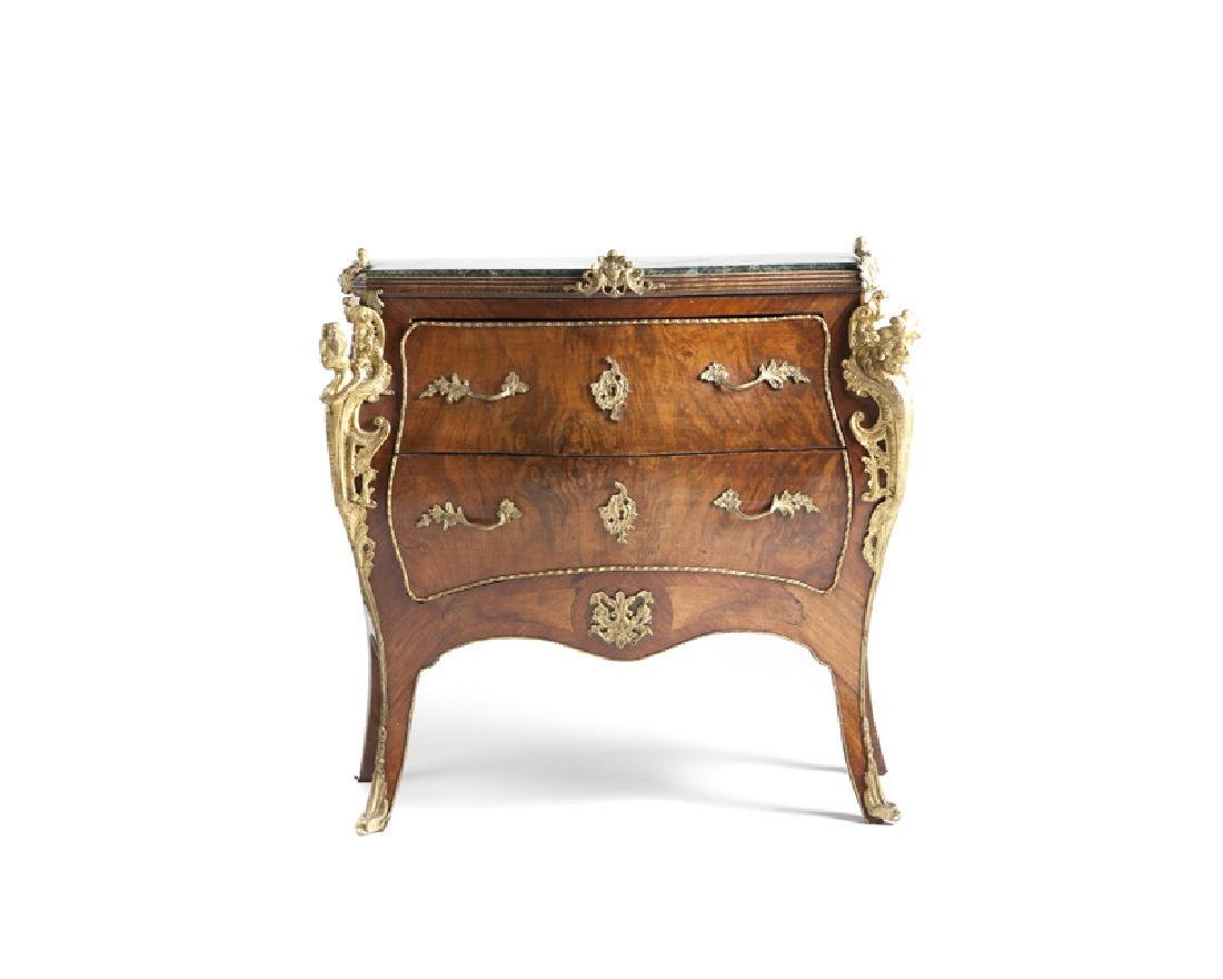Early 20th Cwntury Louis XV-style gilt bronze-mounted