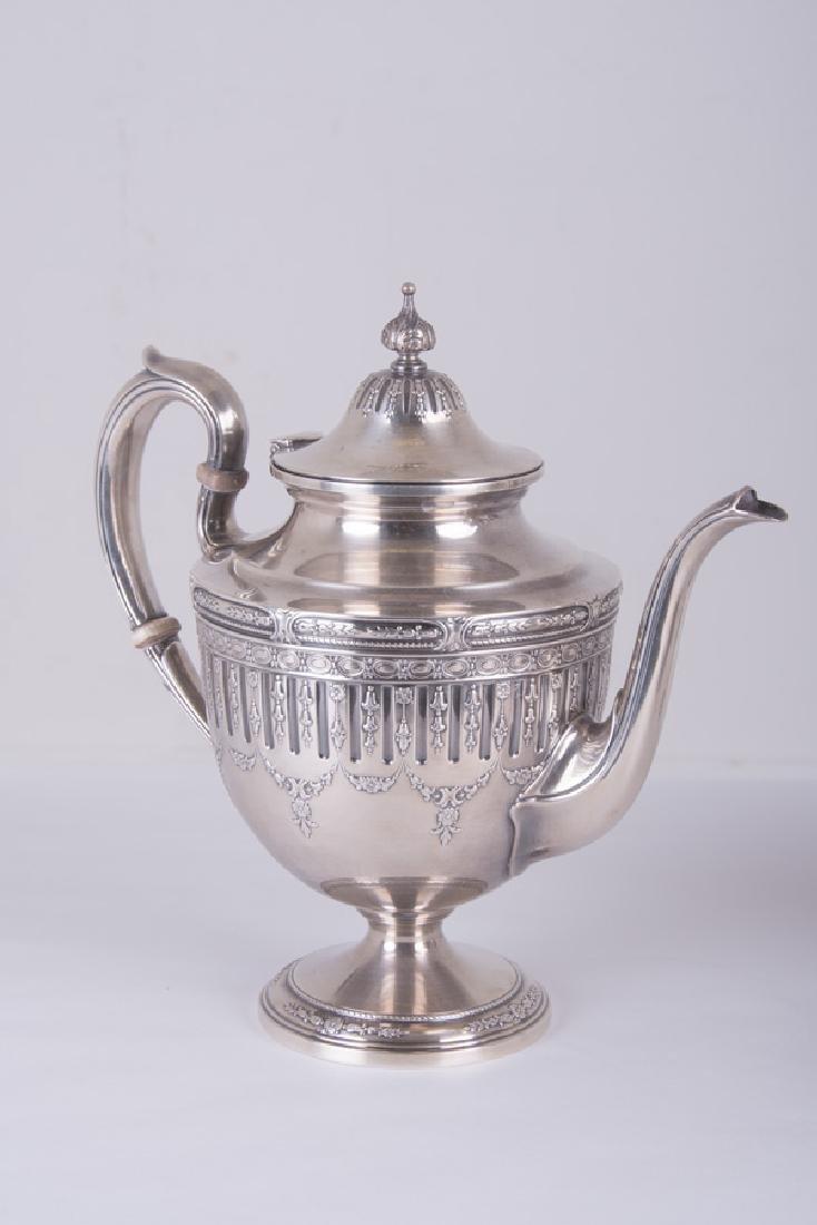 5 PC. GORHAM STERLING SILVER TEA & COFFEE SERVICE - 2