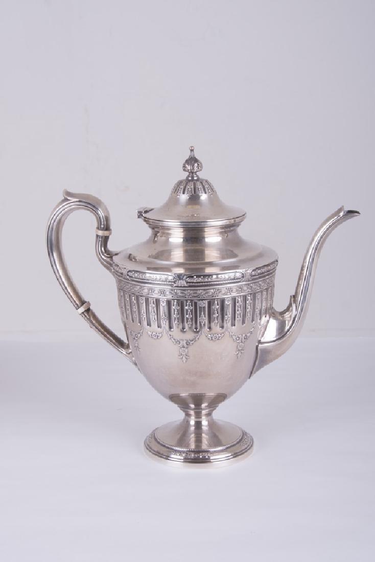 5 PC. GORHAM STERLING SILVER TEA & COFFEE SERVICE - 4