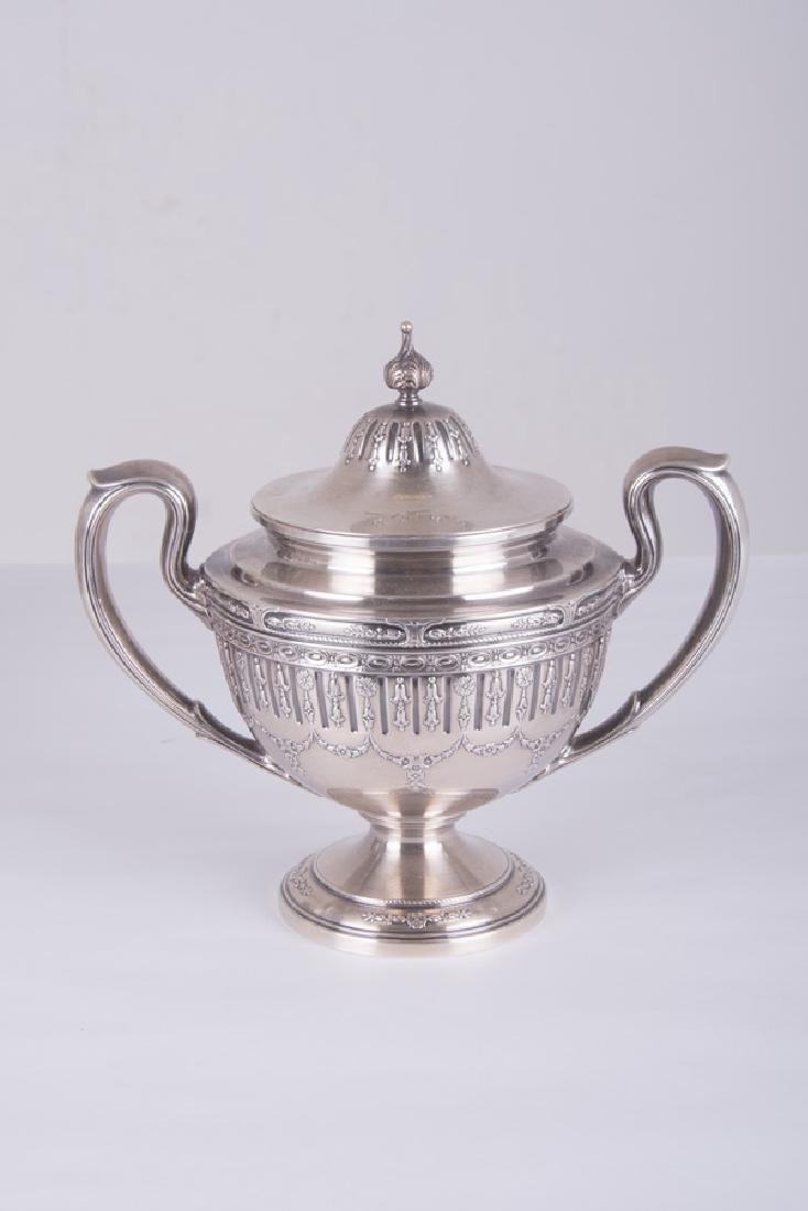 5 PC. GORHAM STERLING SILVER TEA & COFFEE SERVICE - 5