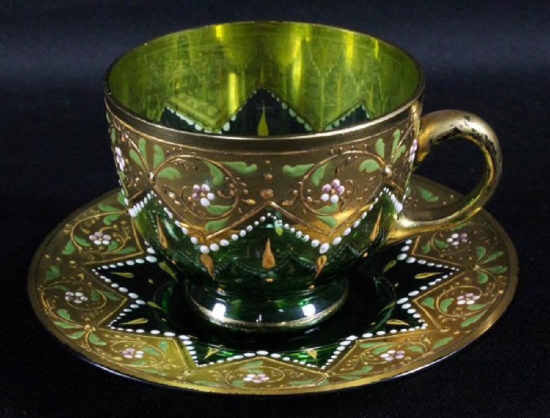 MOSER CUP AND SAUCER