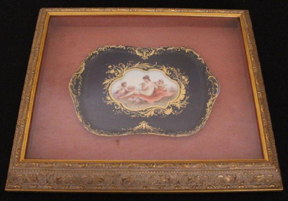 19TH CENTURY ROYAL VIENNA TRAY
