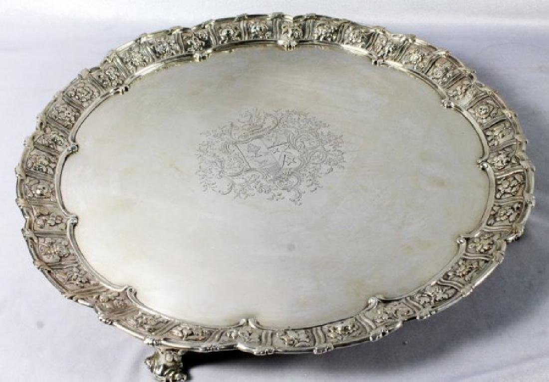 18th C. English Salver