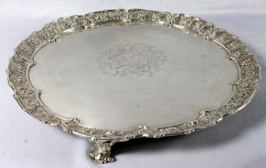 18th C. English Salver - 4