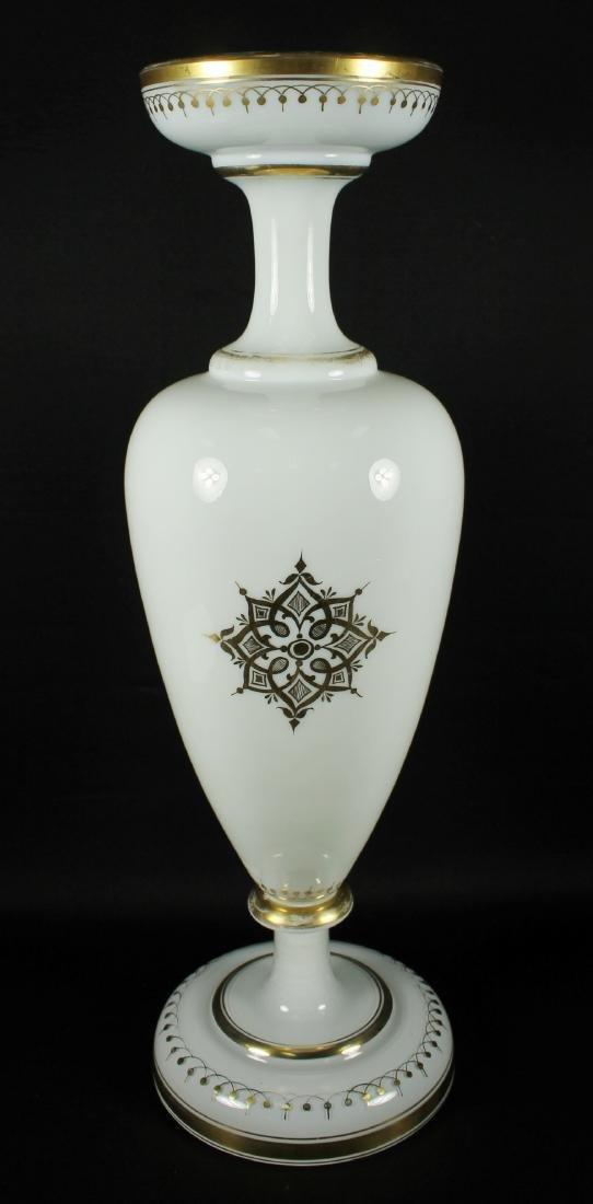 BOHEMIAN MILK GLASS - 6