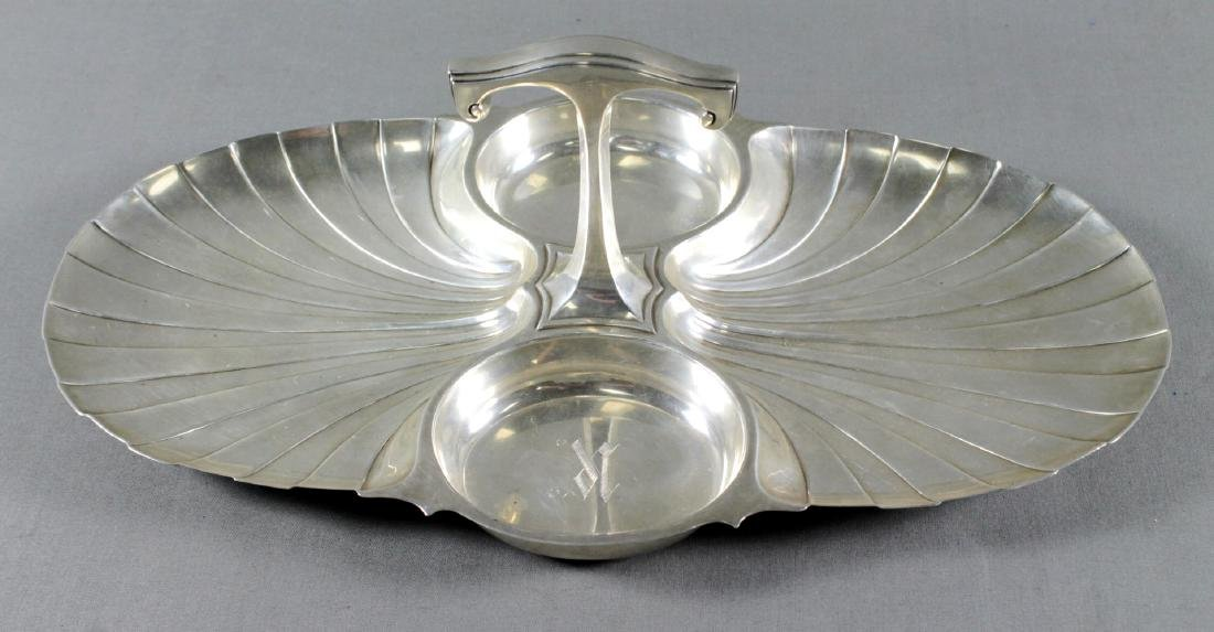 STERLING SILVER DIVIDED DISH