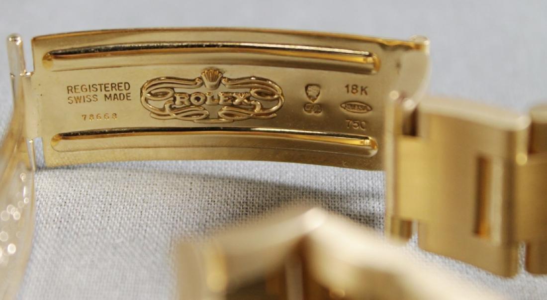 Rolex 18k Yellow Gold Daytona Wristwatch - 9
