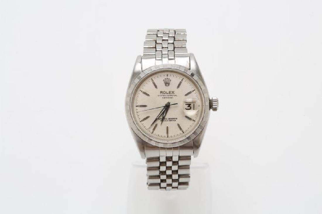 1960s Stainless Steel Rolex Datejust