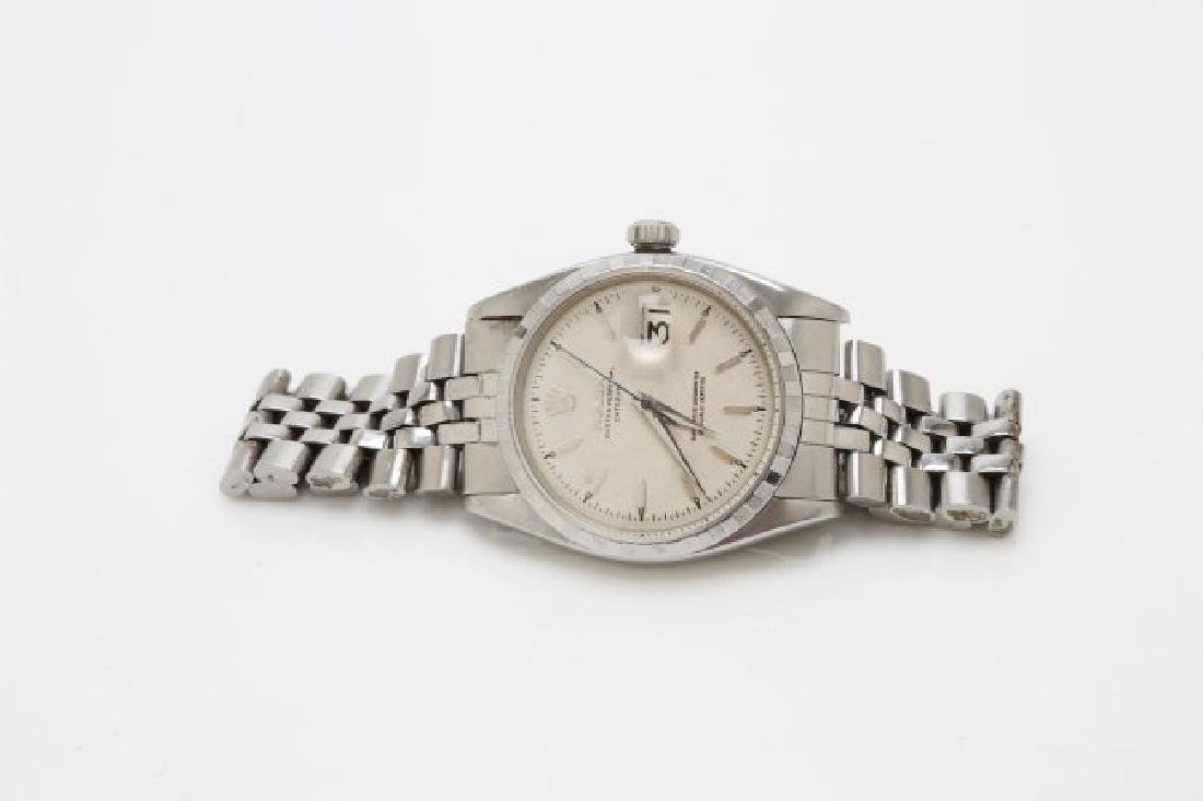 1960s Stainless Steel Rolex Datejust - 3