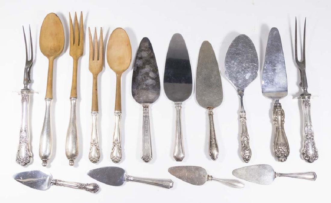 Lot of Sterling Silver Serving Pieces