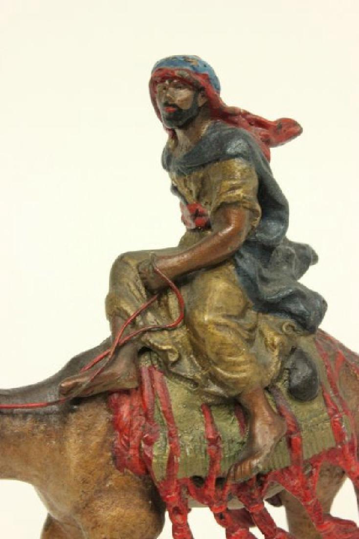 Bergman Vienna Bronze Warrior on Camel - 2