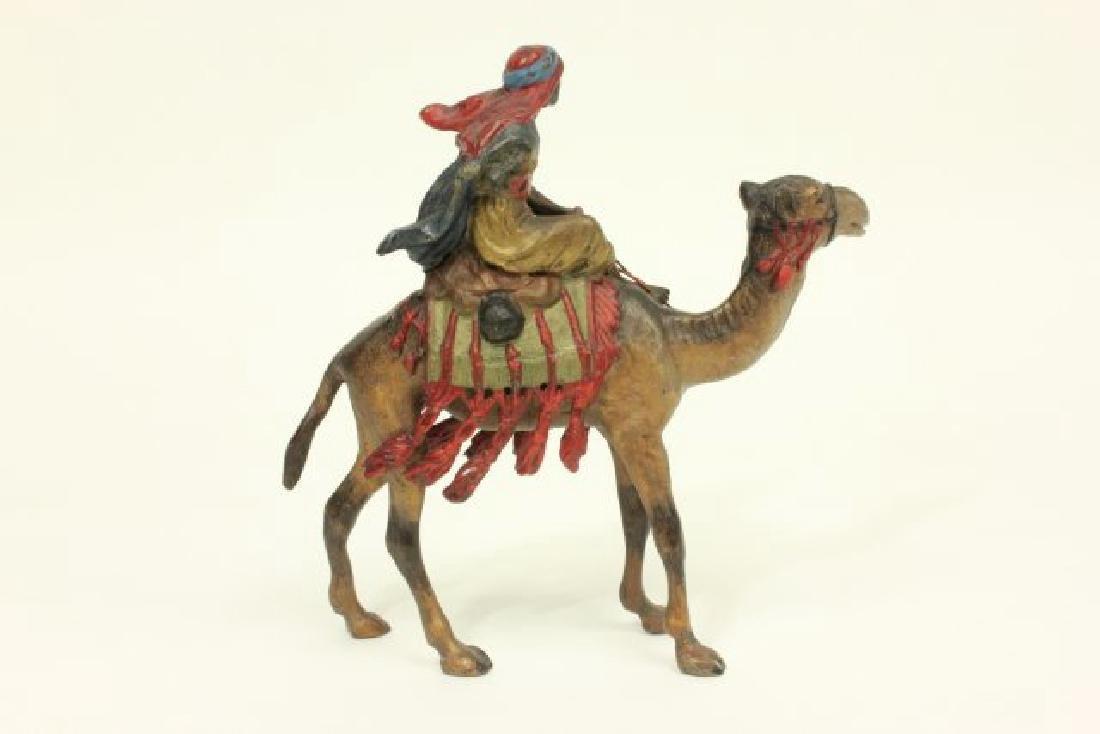 Bergman Vienna Bronze Warrior on Camel - 4