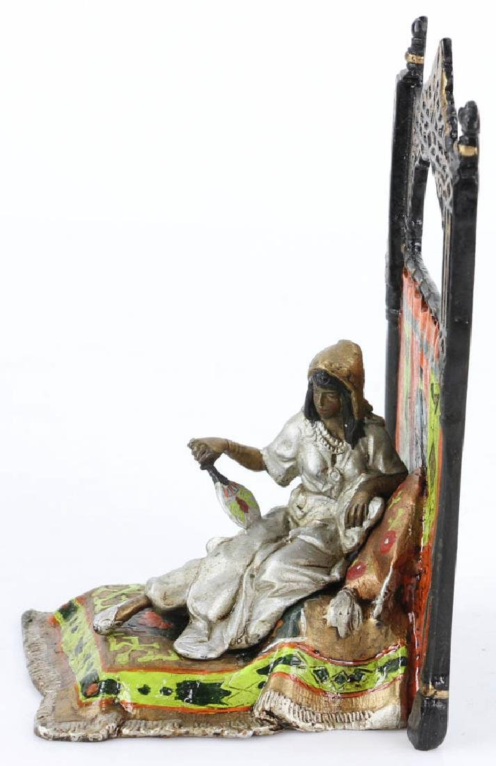 Austrian Vienna-Style Cold Painted Bronze Sculpture - 2