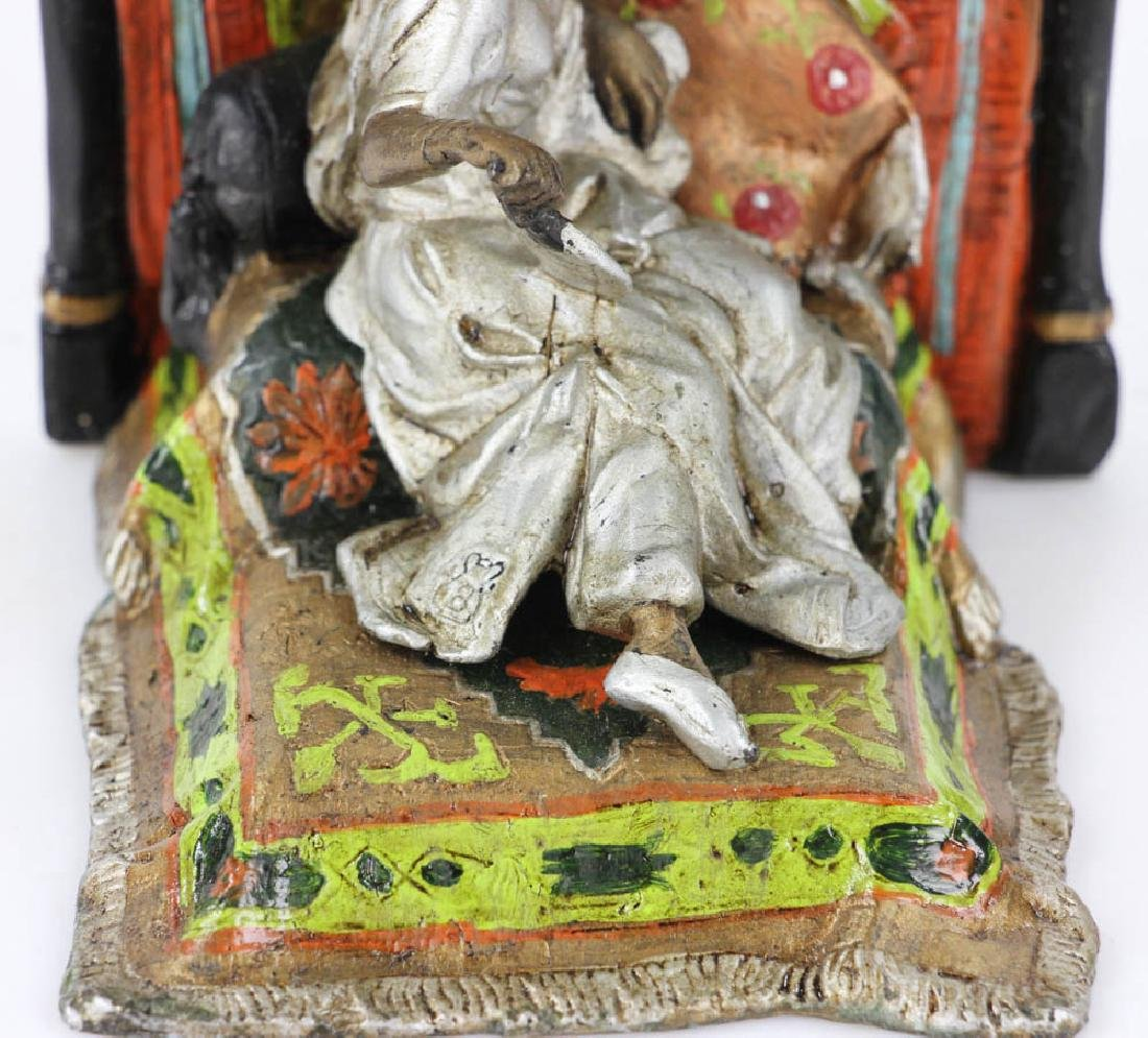Austrian Vienna-Style Cold Painted Bronze Sculpture - 6
