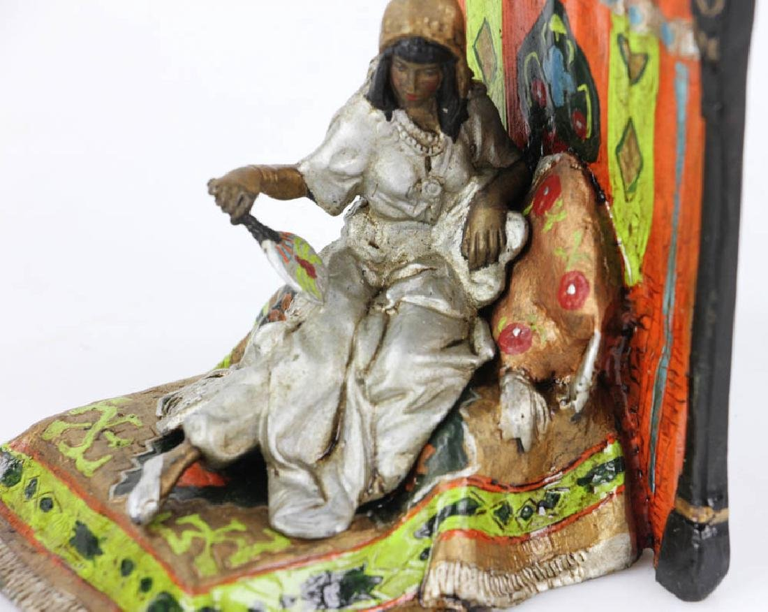 Austrian Vienna-Style Cold Painted Bronze Sculpture - 7