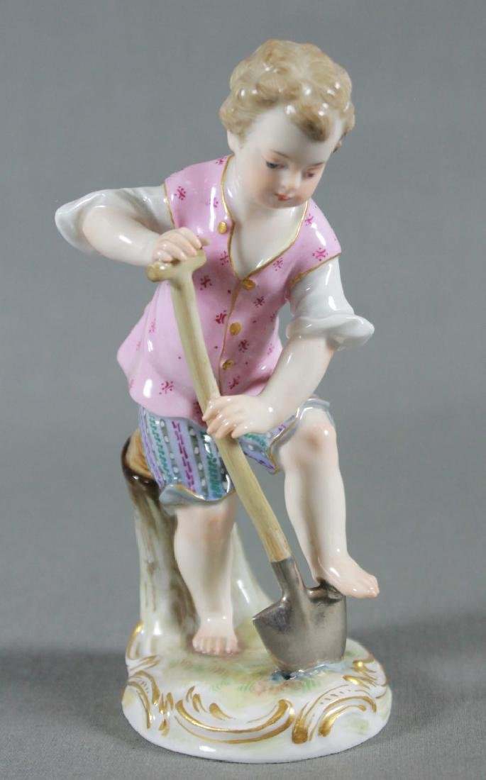 MEISSEN FIGURE OF GARDENER
