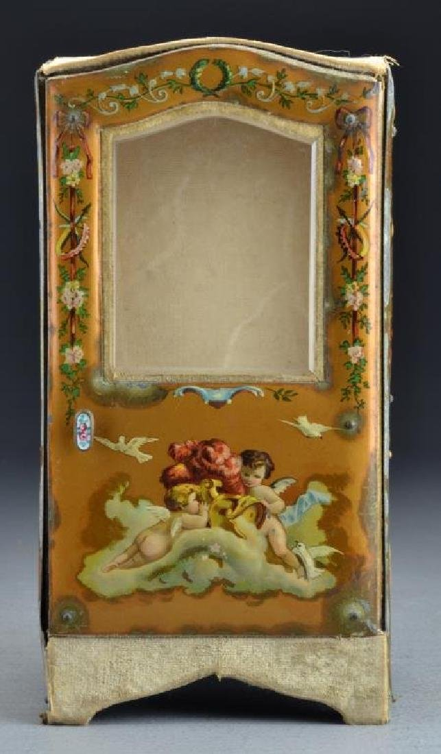 A French Curio Cabinet Formed as Sedan Chair - 3