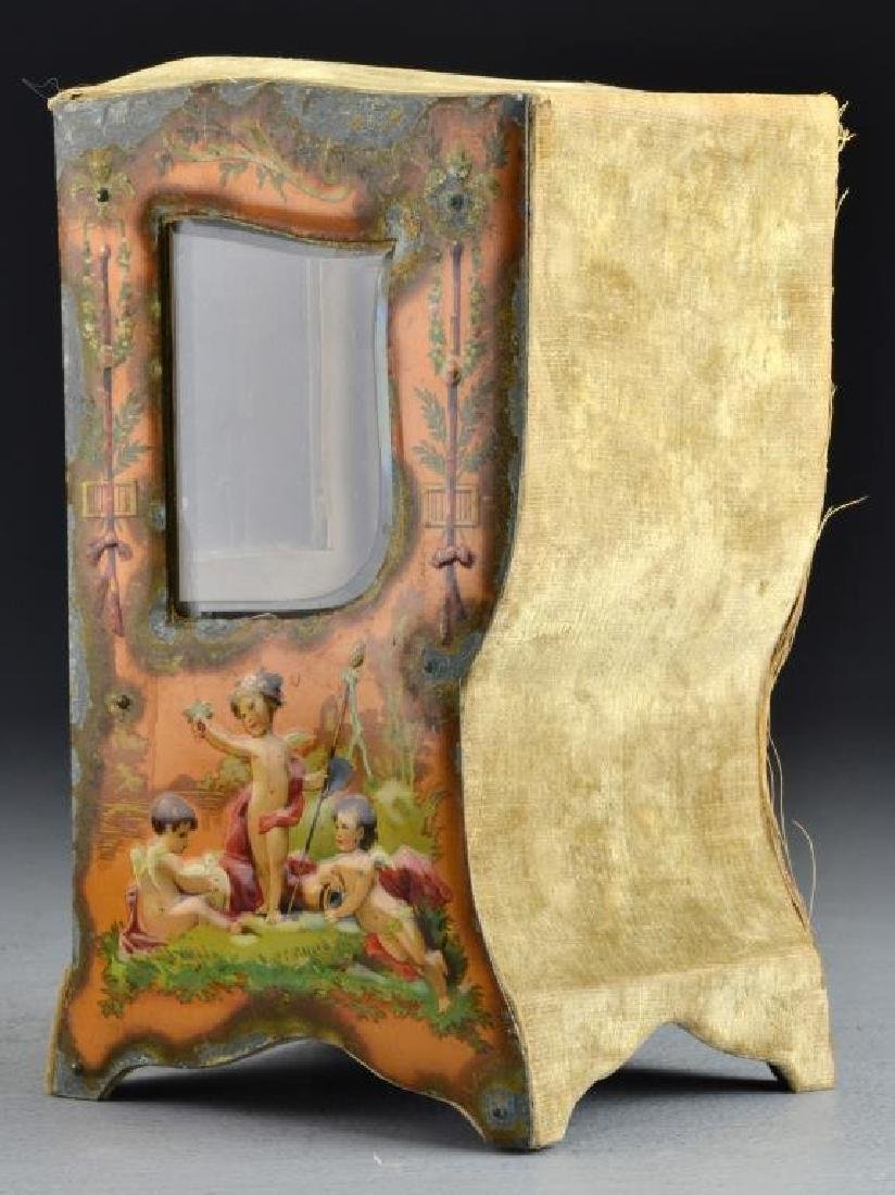 A French Curio Cabinet Formed as Sedan Chair - 4