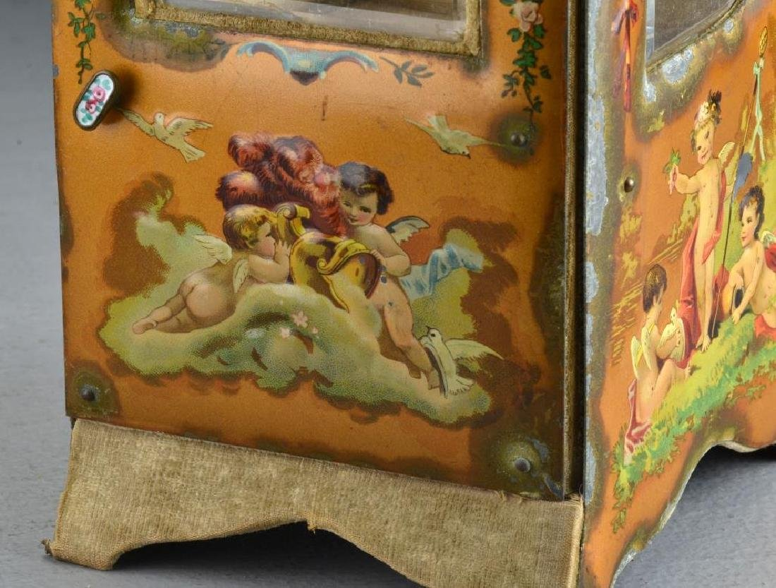 A French Curio Cabinet Formed as Sedan Chair - 5