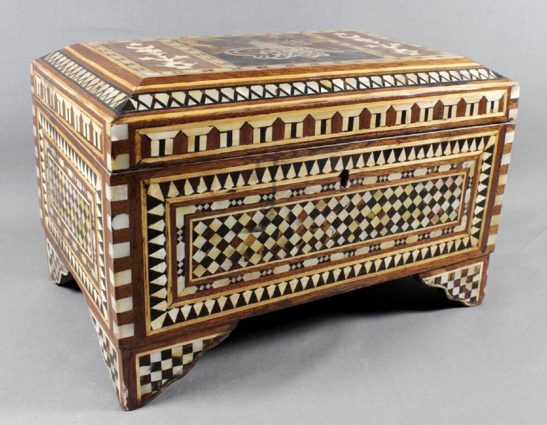 MOORISH INLAID BOX