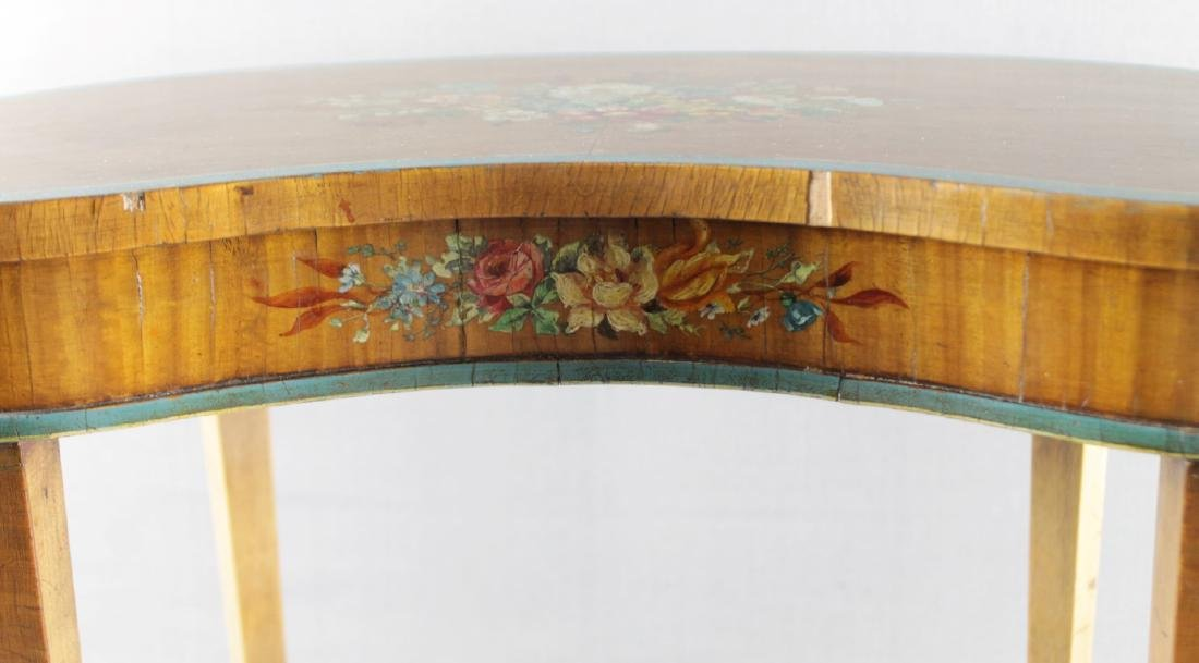 SMALL PAINTED TOP TABLE STAND - 2