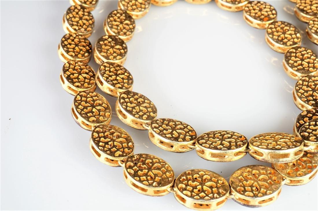 Rose Cut Diamond Necklace - 3