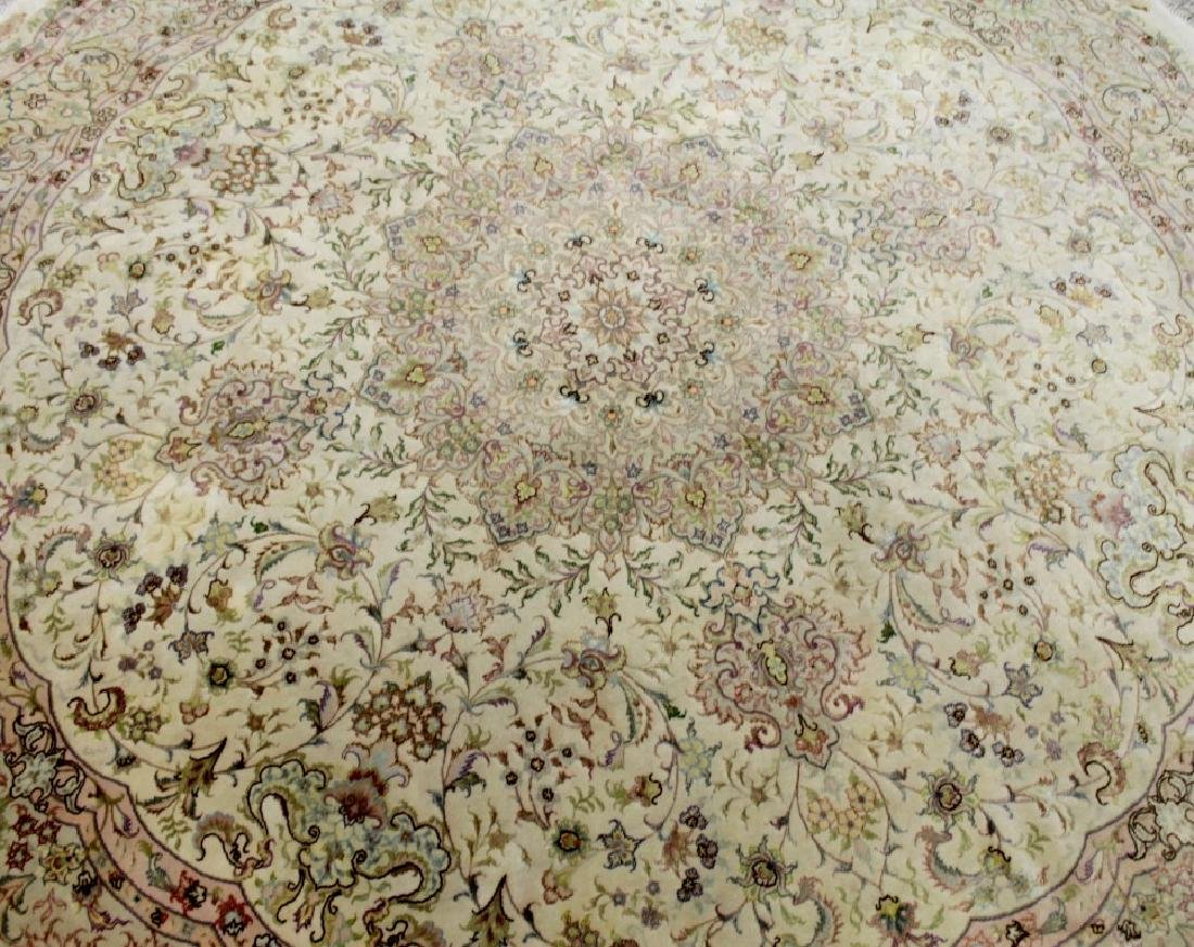 TABRIZ RUG WITH SILK IRAN - 2