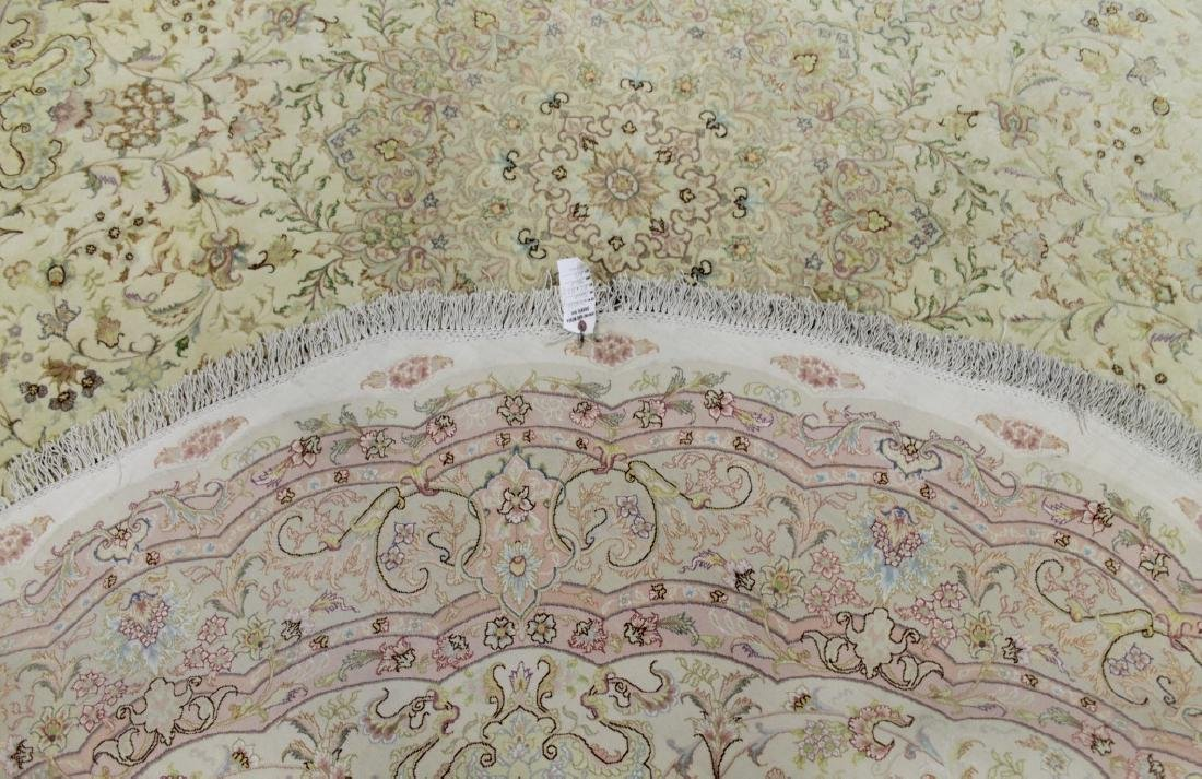 TABRIZ RUG WITH SILK IRAN - 4