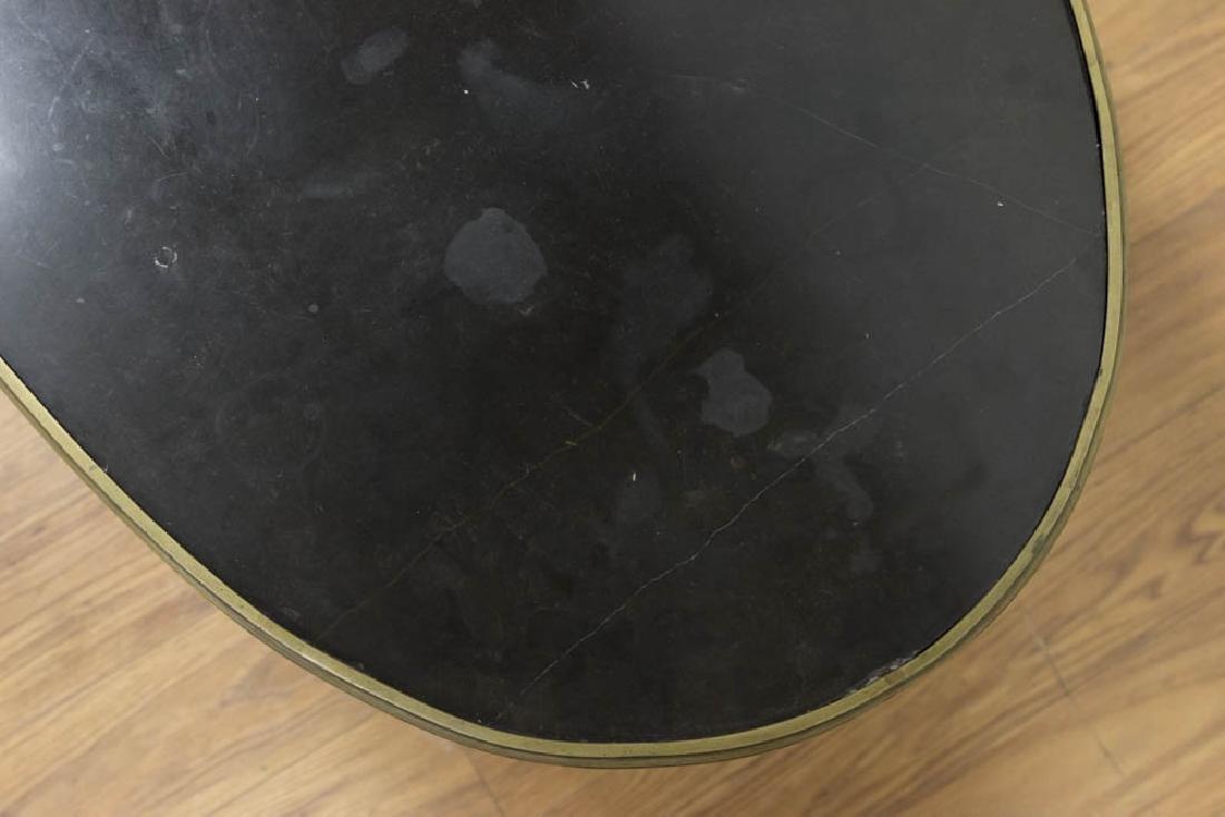 Oval Ormolu Mounted Coffee Table - 4