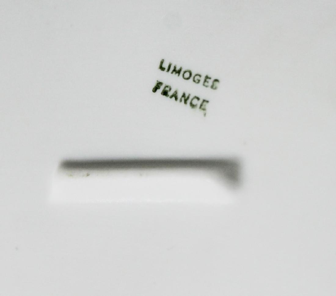 LIMOGES IMPRINTED CHERUB BOX - 5
