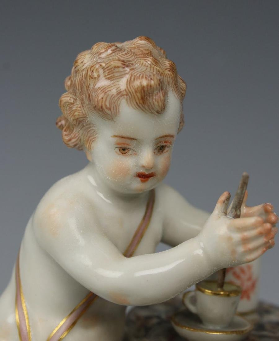 19TH C. MEISSEN FIGURE OF TEAMAKER - 7