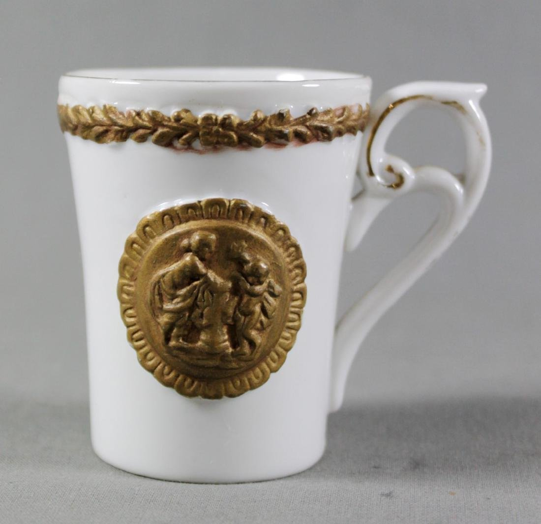 ROYAL VIENNA CUP AND SAUCER - 3