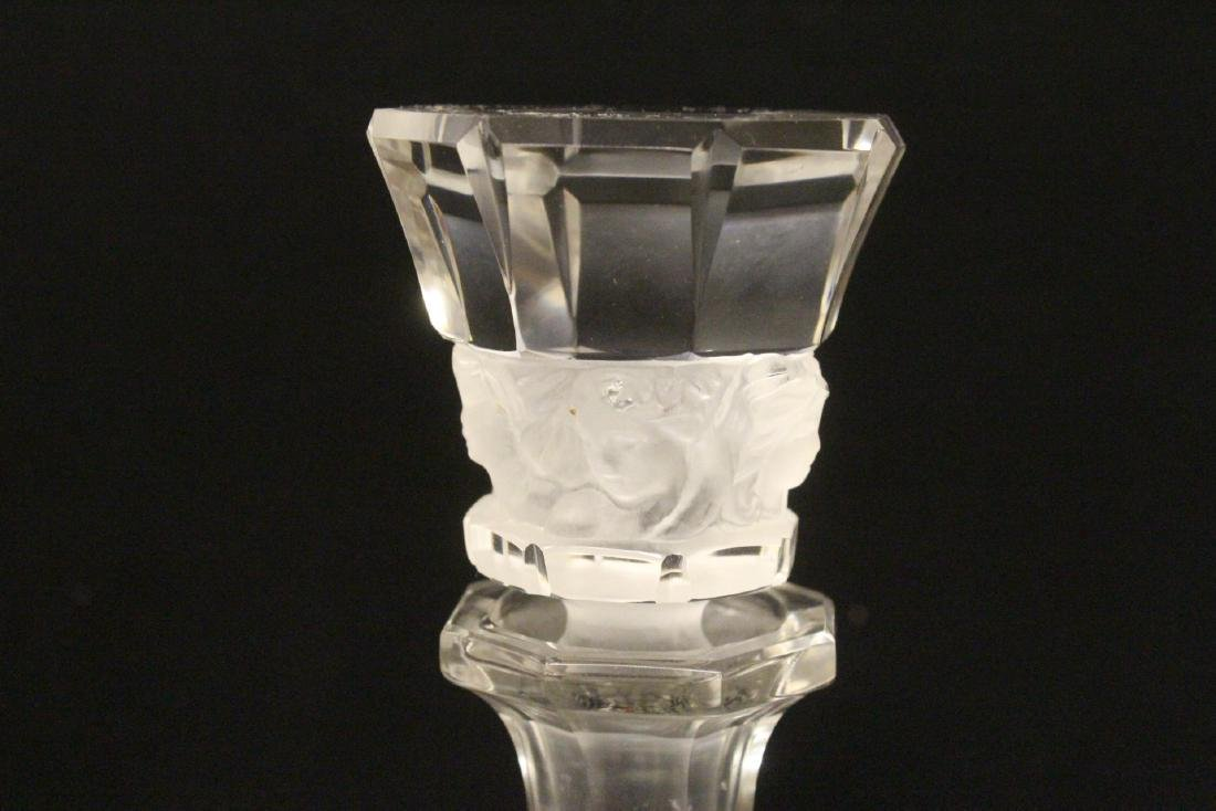 LALIQUE 4 PC. DRINKING SET - 7