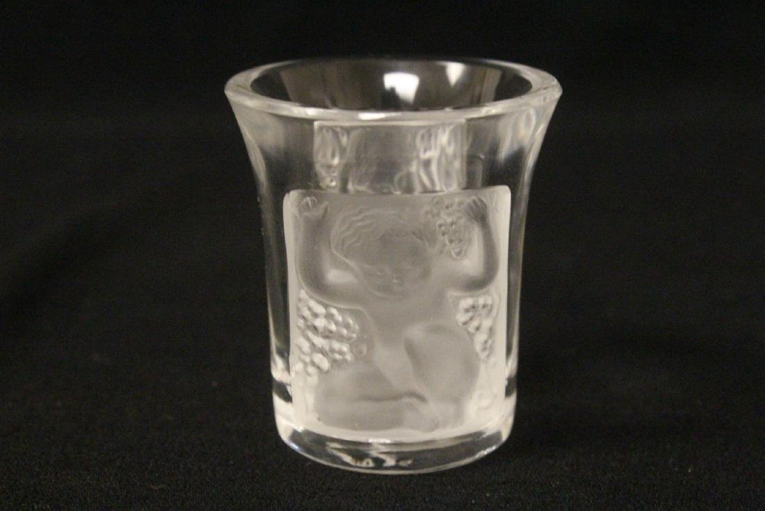 LALIQUE 4 PC. DRINKING SET - 8