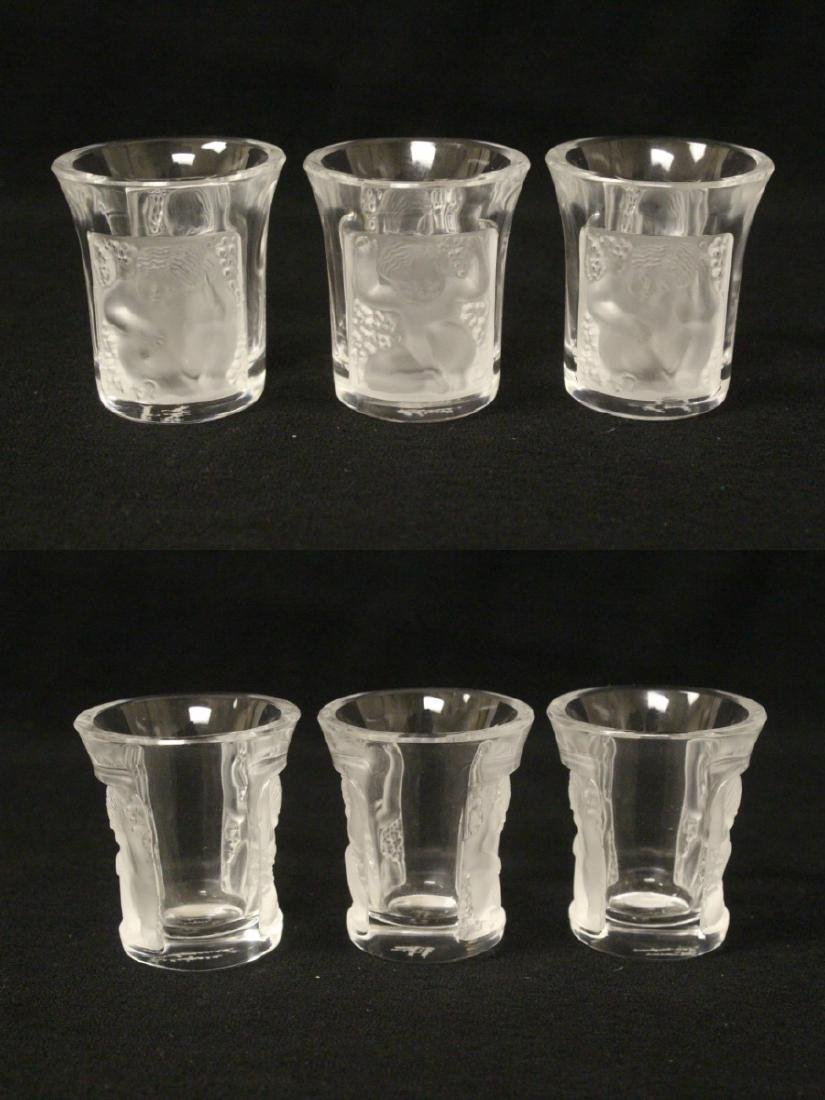 LALIQUE 4 PC. DRINKING SET - 9