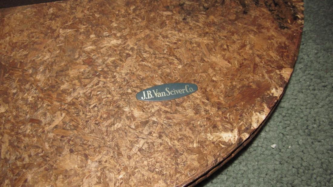 Pair of JB Vansciver Marble Top Tables w/ Cherubs - 5