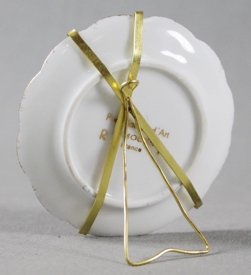 LIMOGES PORCELAIN DISH W/ STAND - 2
