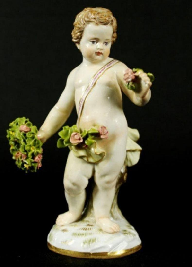 19th c. Meissen porcelain figurine