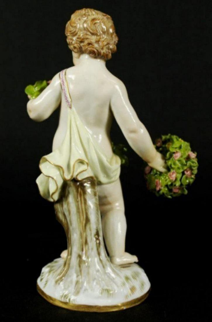 19th c. Meissen porcelain figurine - 2