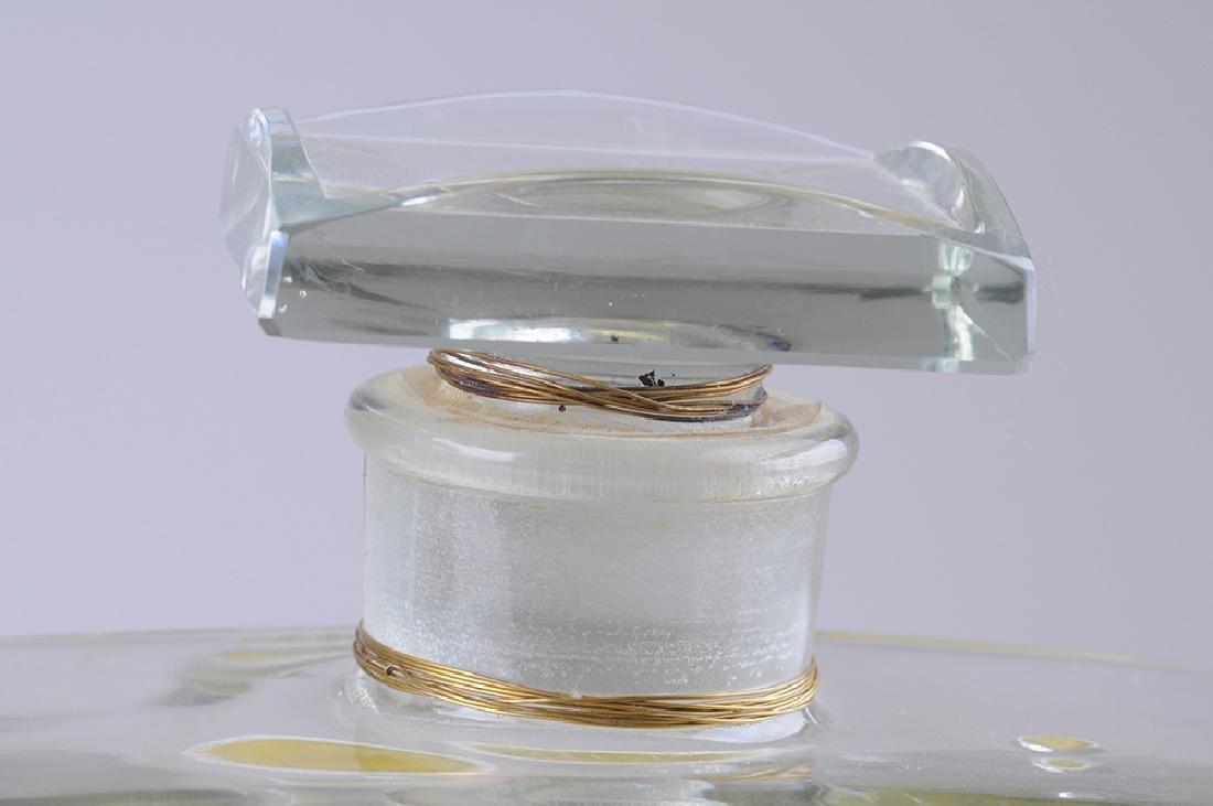 THREE FRENCH PERFUME DISPLAY BOTTLES - 6