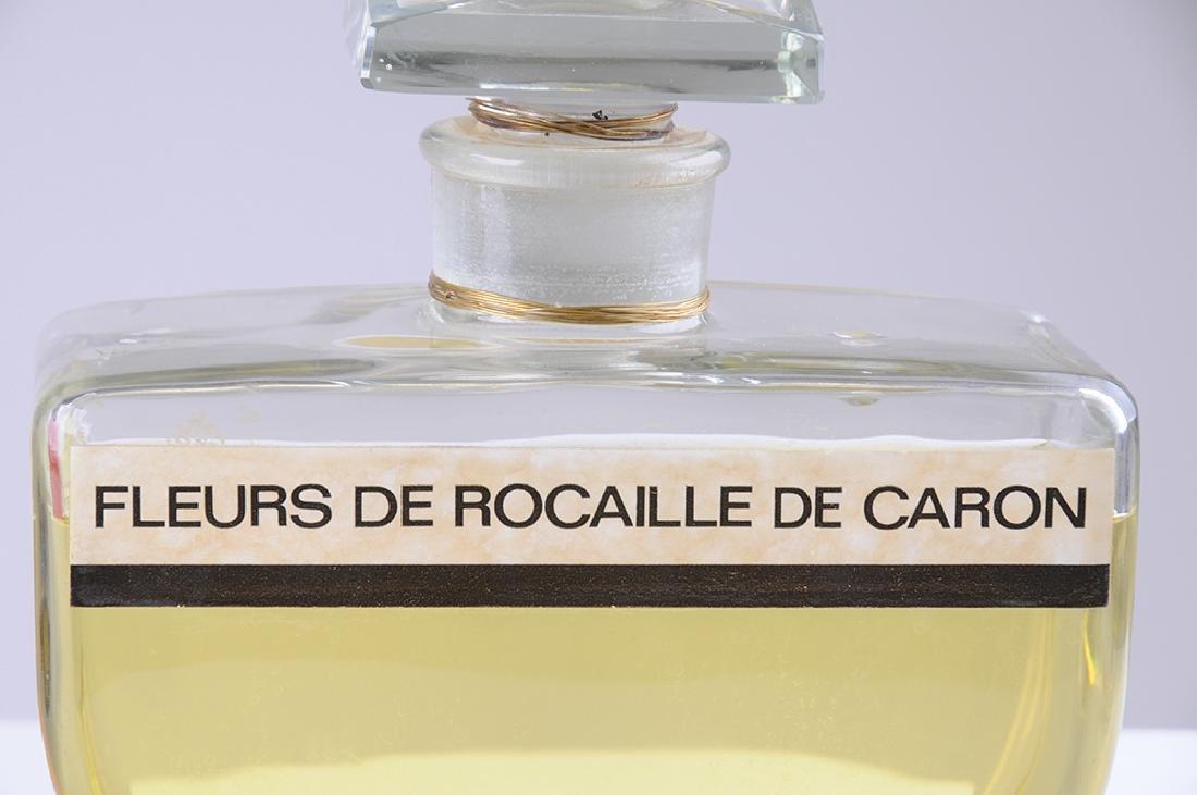 THREE FRENCH PERFUME DISPLAY BOTTLES - 8