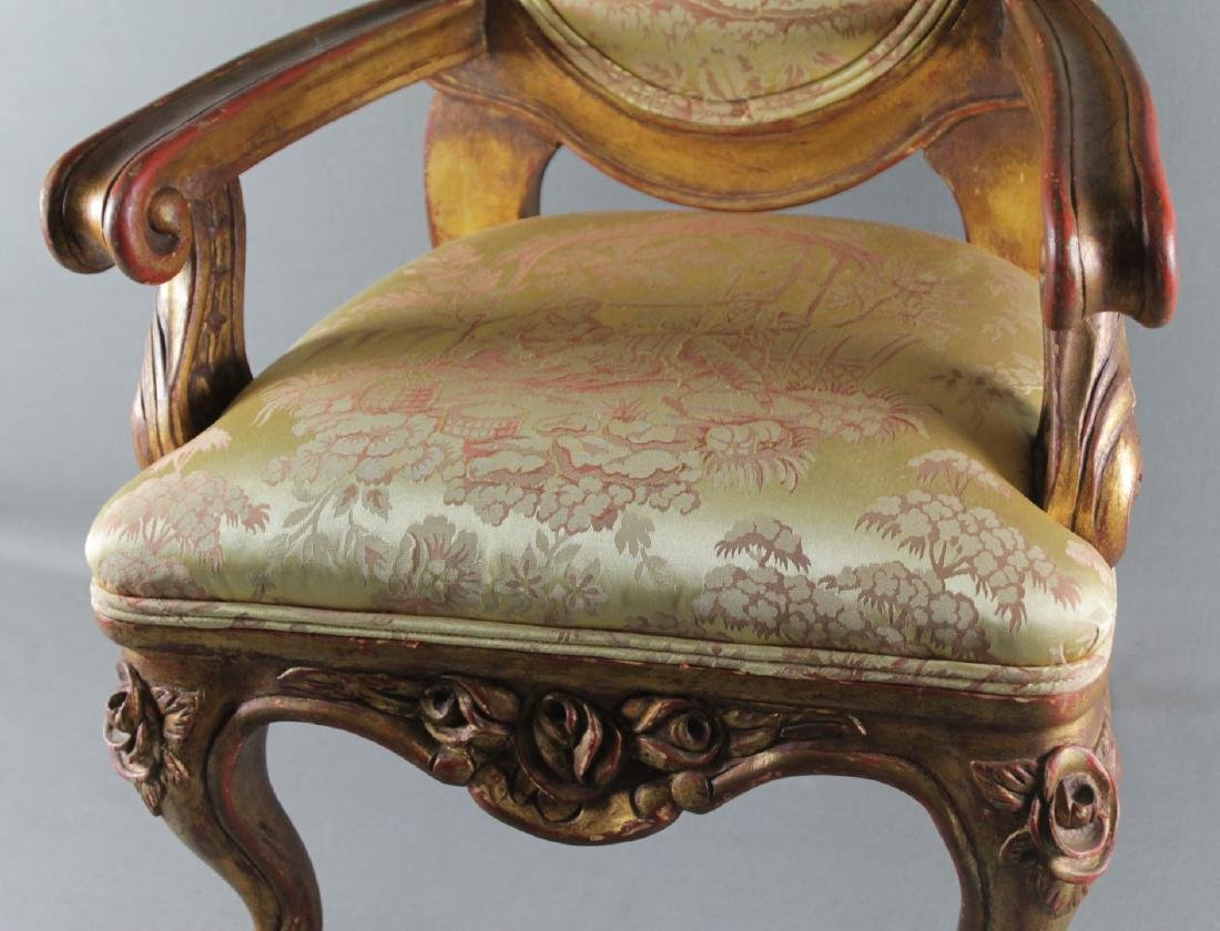 LOUIS XV STYLE DIMINUTIVE FAUTEUIL - 3