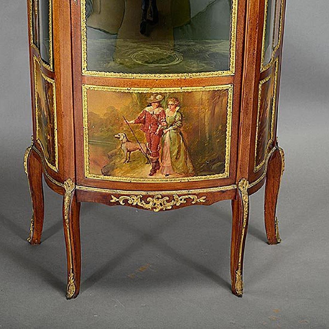 Louis XV Style Vernis Martin Style China Cabinet - 2