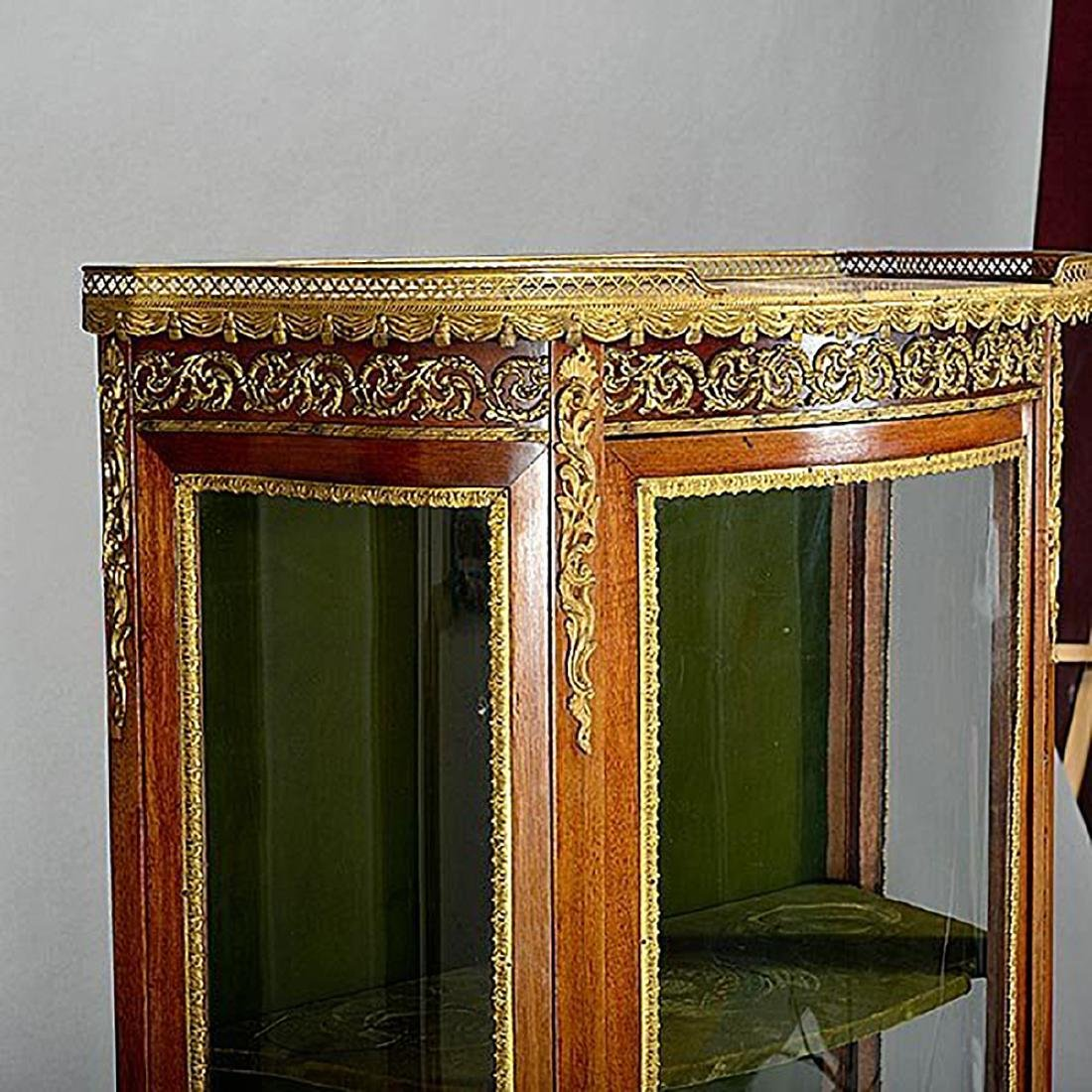 Louis XV Style Vernis Martin Style China Cabinet - 3