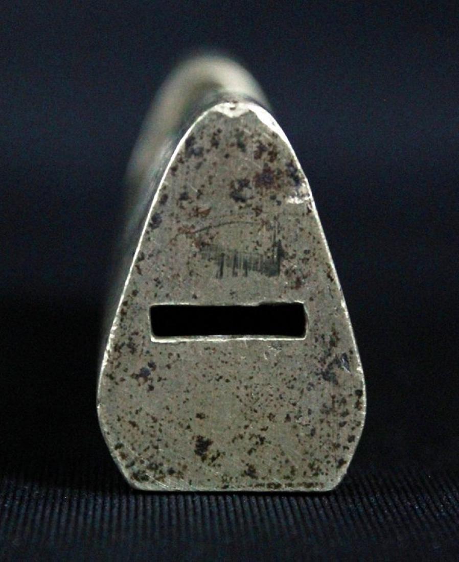 A QAJAR BRASS STEEL LOCK AND KEY 16TH-18TH C. - 4