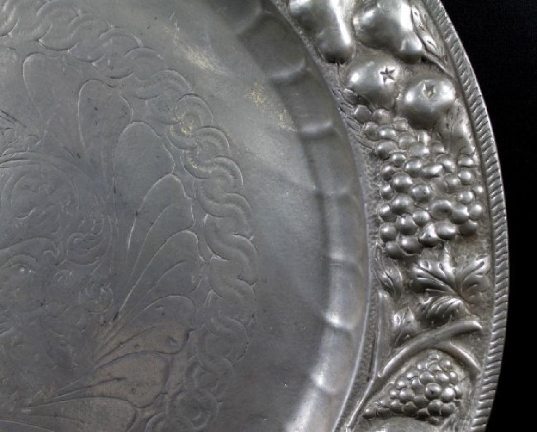 SILVER PLATED INLAD PLATE - 3