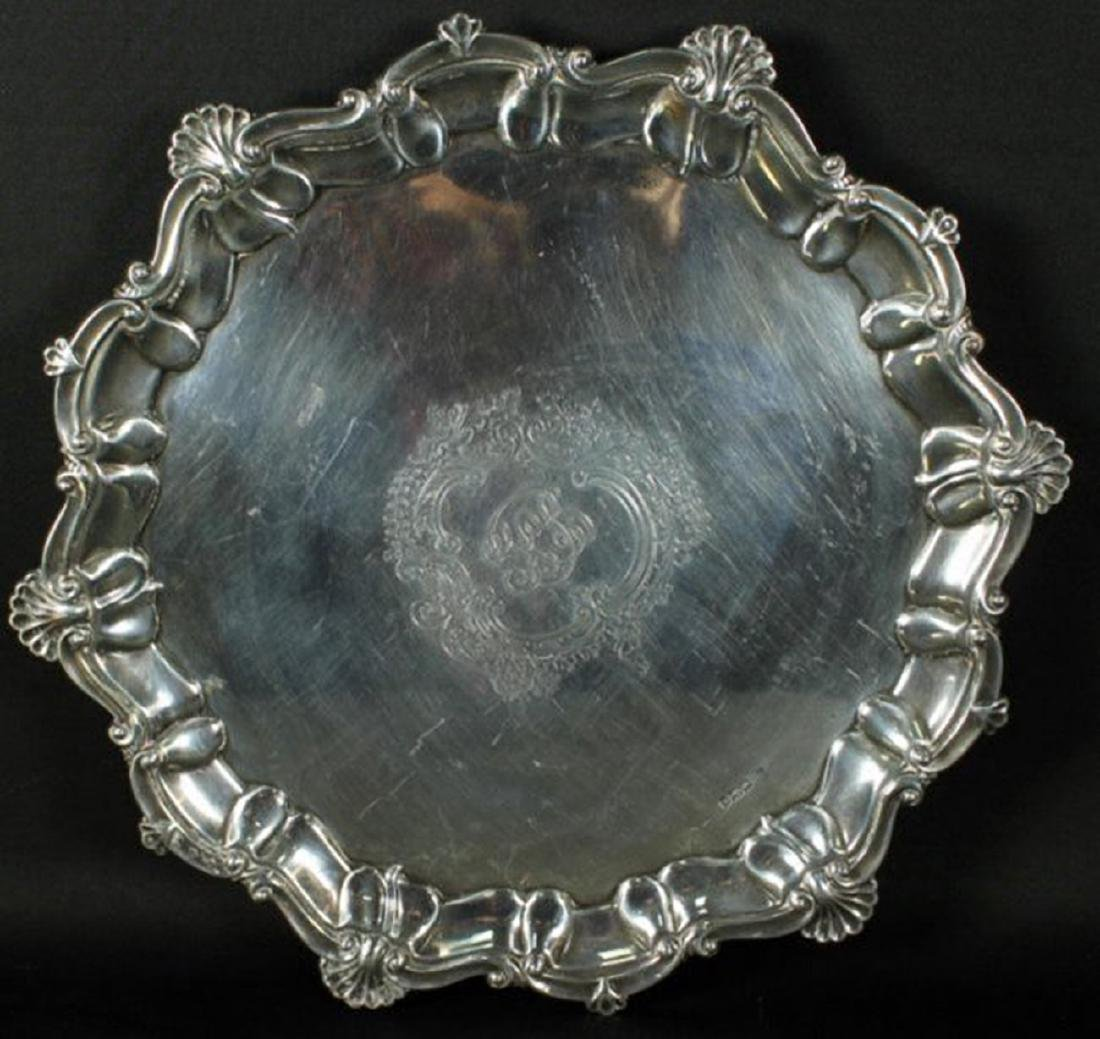 Alexander Clark Sterling Silver Tray - 2