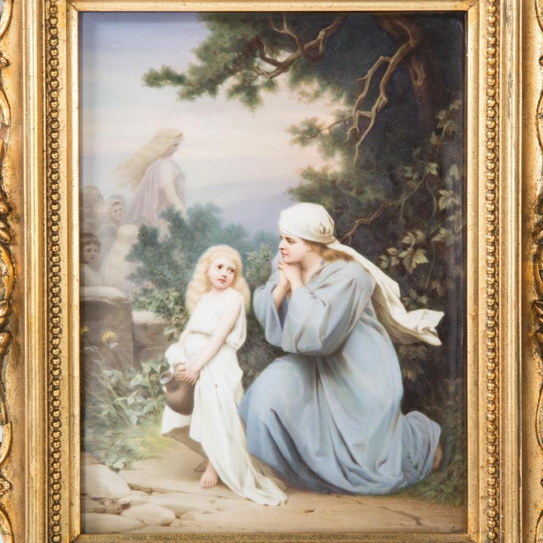 19th Century KPM porcelain plaque - 2