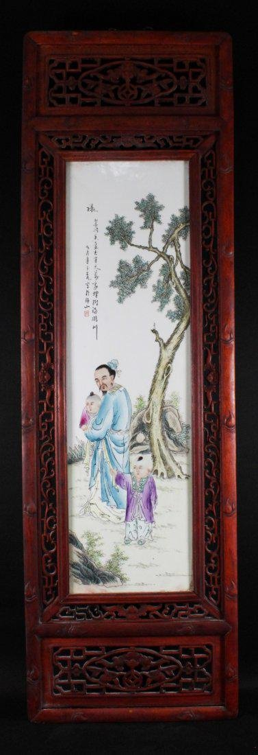CHINESE HANGING PLAQUE